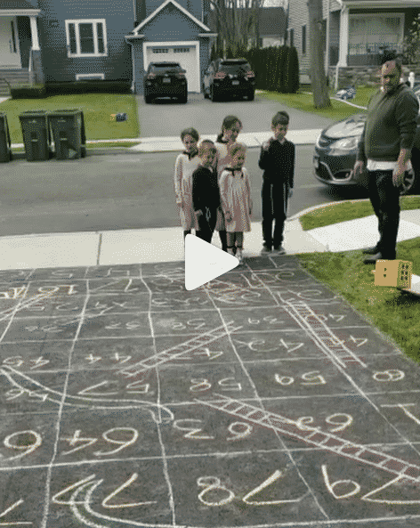 Must See: Snakes & Ladders on the Driveway 1