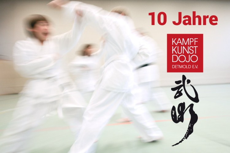 Jubiläum 10 Jahre Kampfkunst Dojo Detmold e.V.