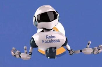 face robô postagens automáticas