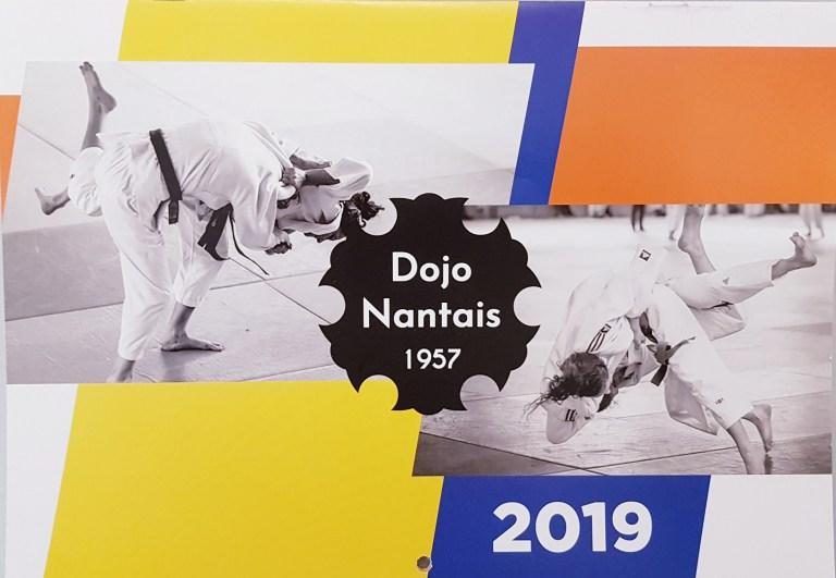 CALENDRIER 2019 DU DOJO NANTAIS…