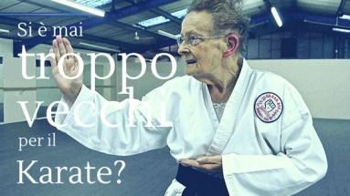 Se pensi che il karate sia uno sport adatto solo ai giovanissimi ti sbagli! Scopri il perché in questo articolo