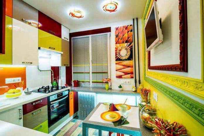 4_result-63   Поразительное преображение 6-метровой кухни в хрущевке