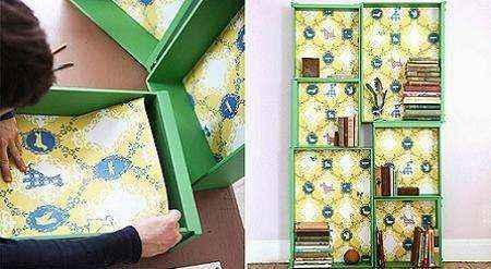 mebel-iz-kartona-009 | Нет денег на новую мебель? Не беда! Её можно сделать из…