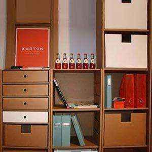 mebel-iz-kartona-015 | Нет денег на новую мебель? Не беда! Её можно сделать из…