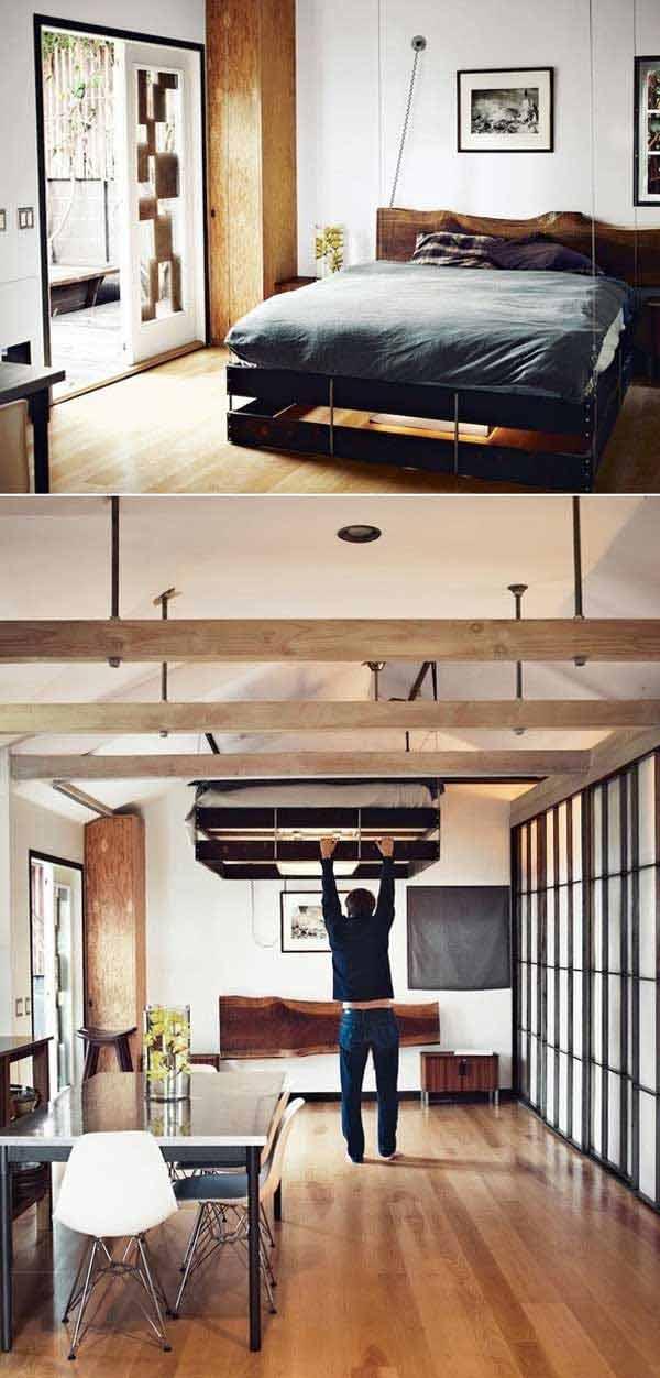 image10-12   Как экономить пространство в малогабаритных квартирах: 23 идеи хранения вещей