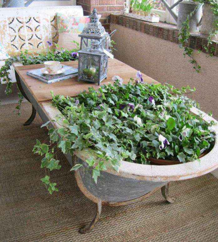 image12-16 | Как украсить сад с помощью старой мебели