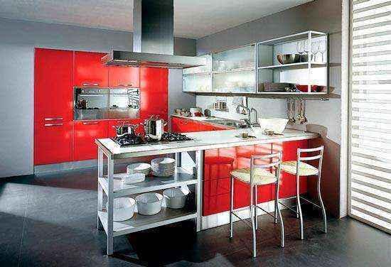 image13-23 | Красные кухни в интерьере