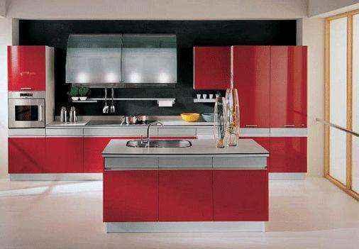 image15-21 | Красные кухни в интерьере