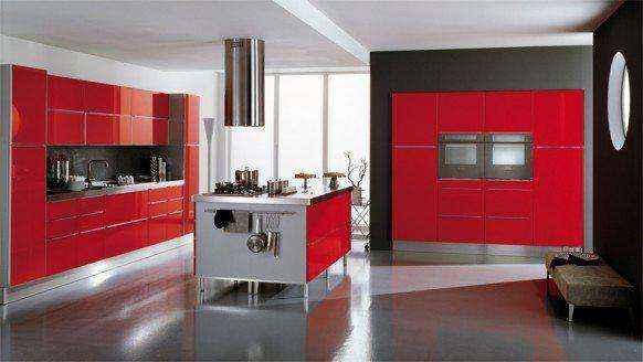 image17-14 | Красные кухни в интерьере