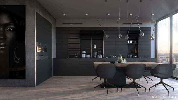 image3-37 | Черные кухни — новый взгляд на привычные вещи