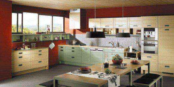 image3-47 | Красные кухни в интерьере