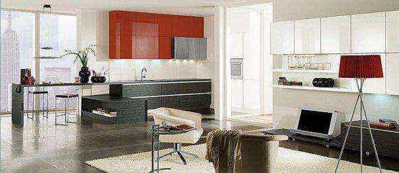 image4-45 | Красные кухни в интерьере