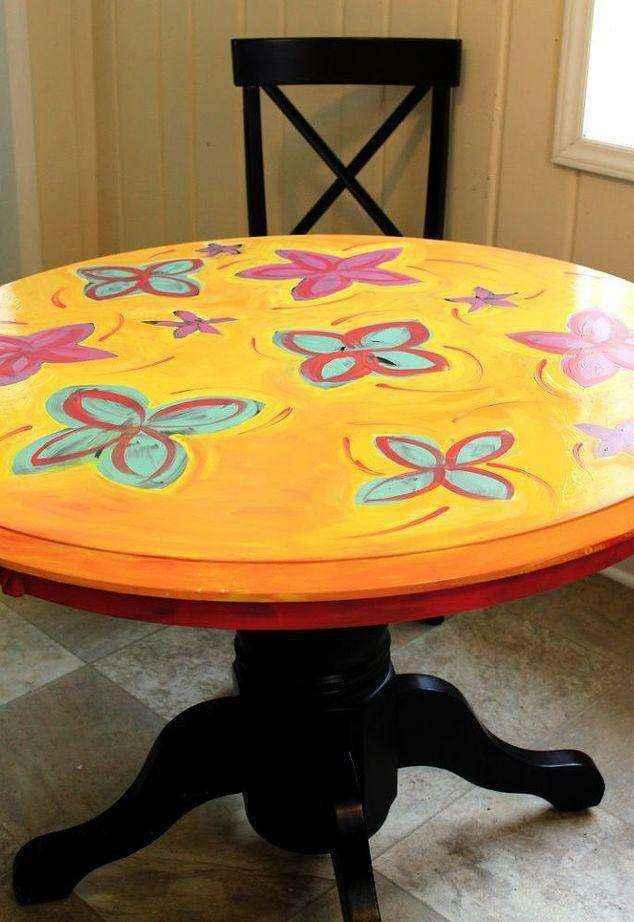 image6-1 | Как потратив минимальную сумму преобразить кухонный стол до неузнаваемости?