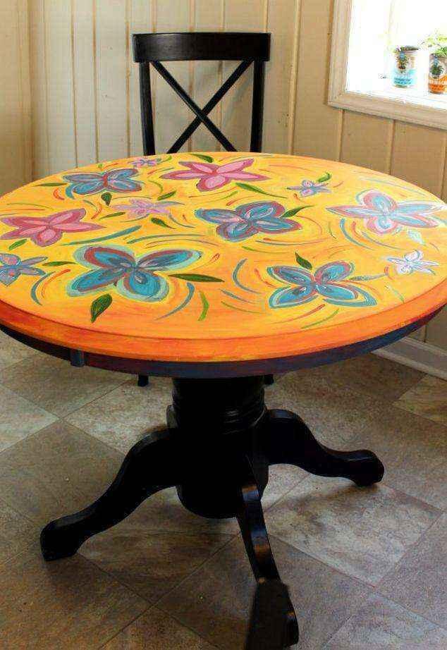 image7-1 | Как потратив минимальную сумму преобразить кухонный стол до неузнаваемости?