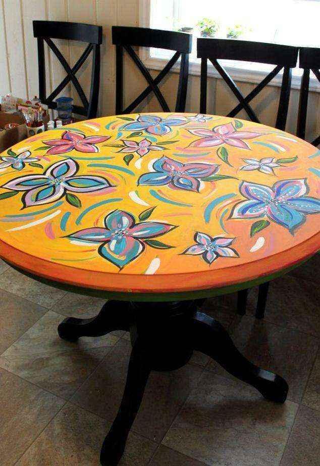 image8-1 | Как потратив минимальную сумму преобразить кухонный стол до неузнаваемости?