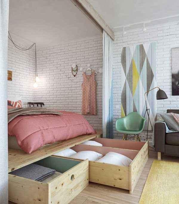 image8-14   Как экономить пространство в малогабаритных квартирах: 23 идеи хранения вещей