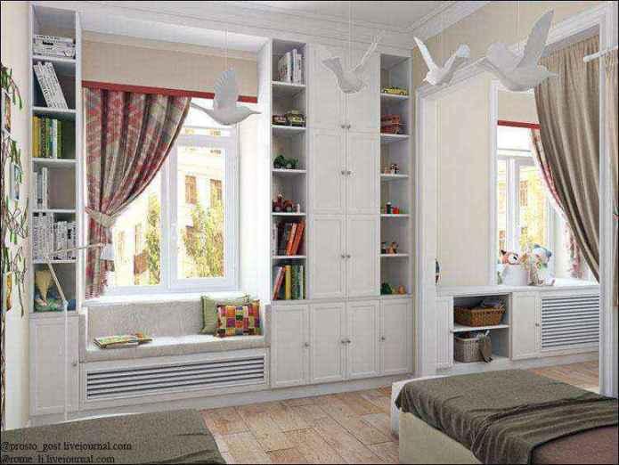 image9-9 | Экономим пространство: шкафы вокруг окна!