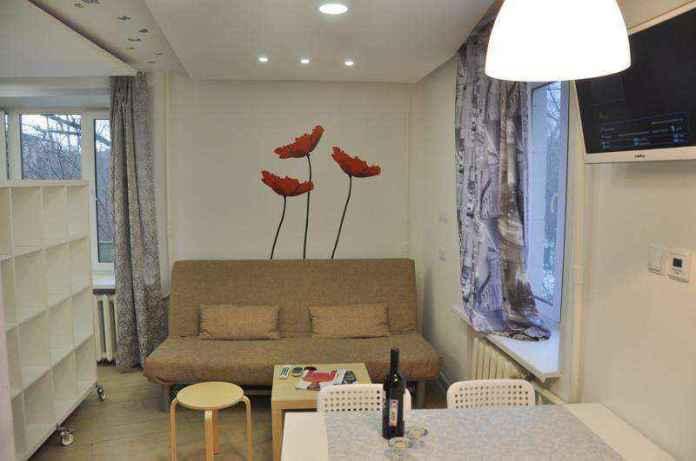 image29   Квартира в 32 м² до и после ремонта — потрясающе!