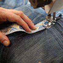 image15-3 | Как превратить старые джинсы в уютный гамак