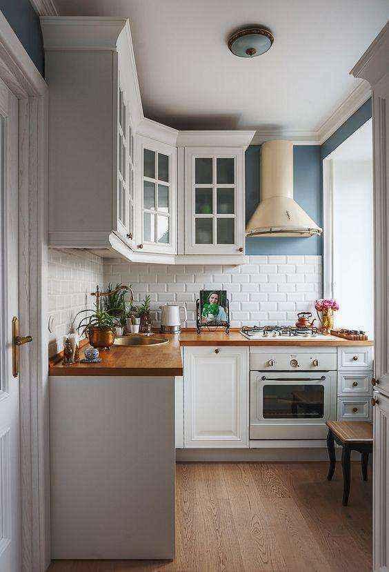 image17-5   Потрясающие идеи для маленькой уютной кухни