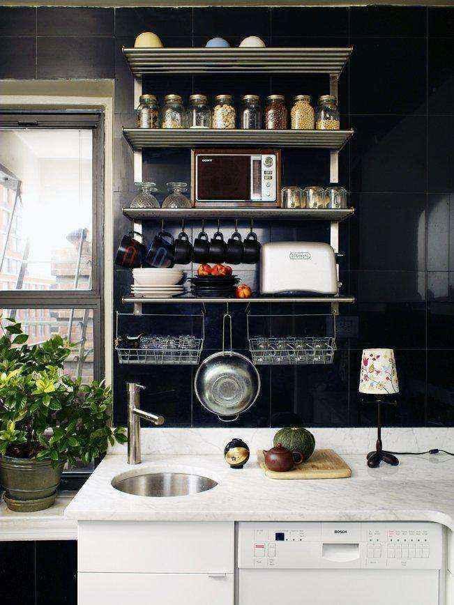 image22 | 30 идей оформления маленькой кухни