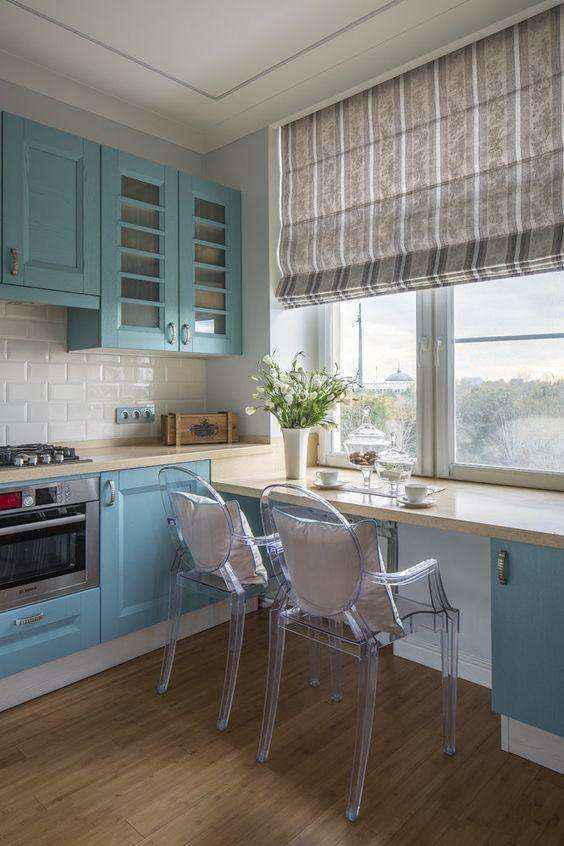 image26-2   Потрясающие идеи для маленькой уютной кухни