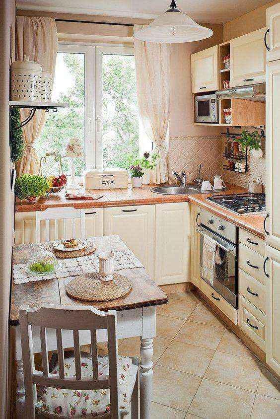 image32   Потрясающие идеи для маленькой уютной кухни