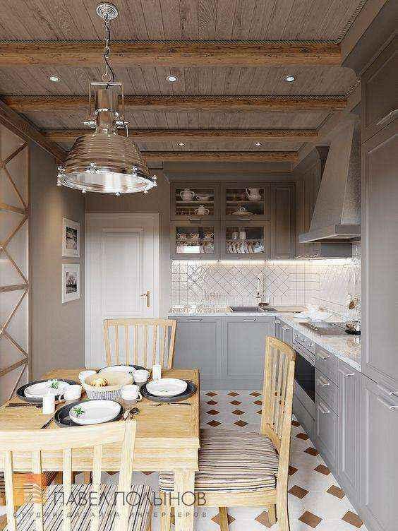 image38-1   Потрясающие идеи для маленькой уютной кухни
