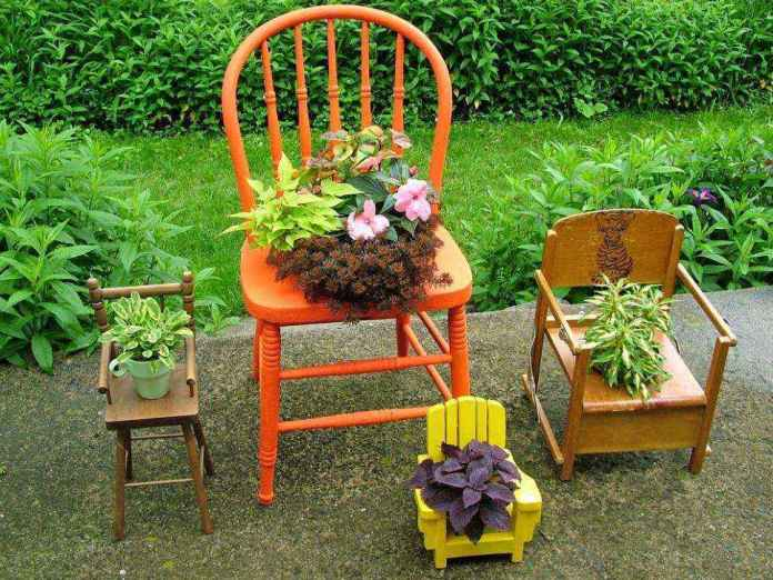 1420689630133   Банки от краски, пустые ящики от фруктов, старая мебель — креативному мастеру пригодится всё!