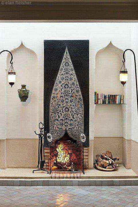 3-9-wood-burning-fireplace-in-living-room-interior | Дровяные камины: обзор материалов и лучших идей (Часть вторая)
