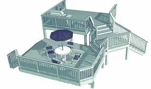 image35-2 | Лучшие проекты террасы для загородного дома
