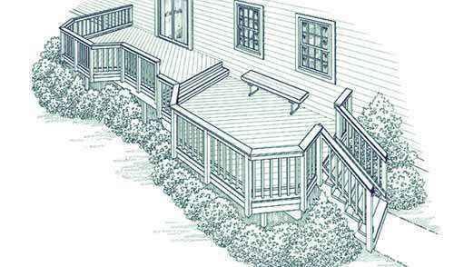image40 | Лучшие проекты террасы для загородного дома