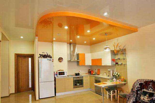 natyazhnoy-potolok-na-kuhne-08 | Натяжной потолок на кухне