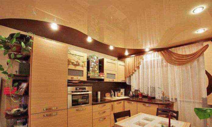 natyazhnoy-potolok-na-kuhne-09 | Натяжной потолок на кухне