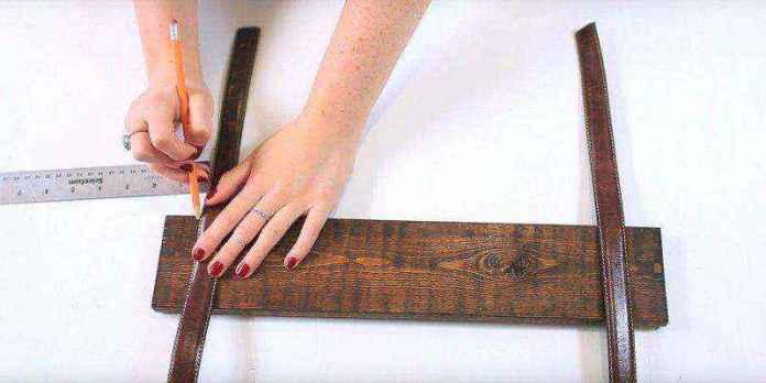 cinturon-viejo-6   Как можно использовать старые ремни для изготовления стильной полки