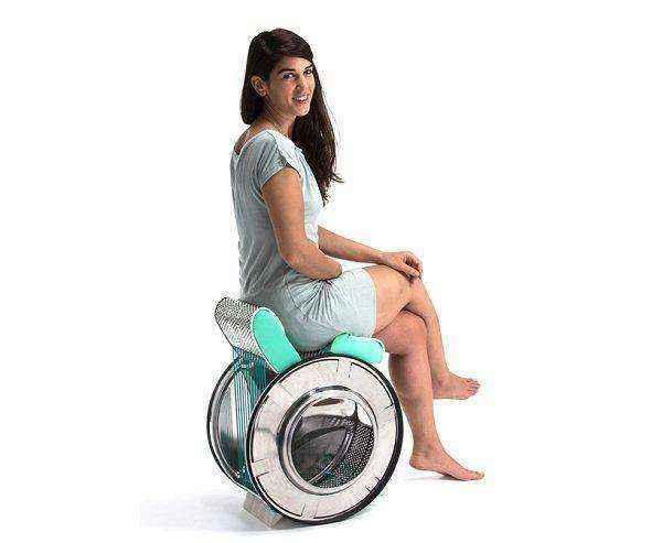 image008   Потрясающие идеи использования старой стиральной машины