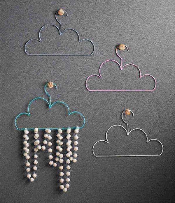 image1-20 | Как своими руками сделать очаровательную вешалку-облако