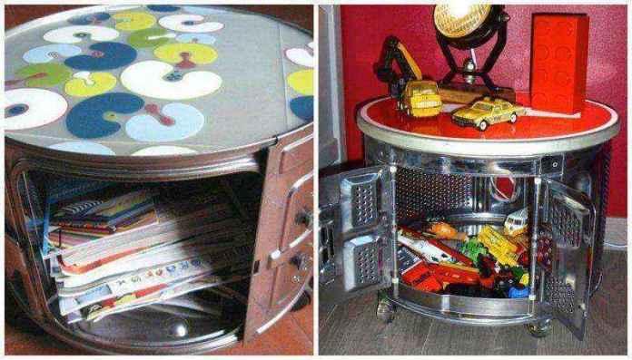 image13   Потрясающие идеи использования старой стиральной машины