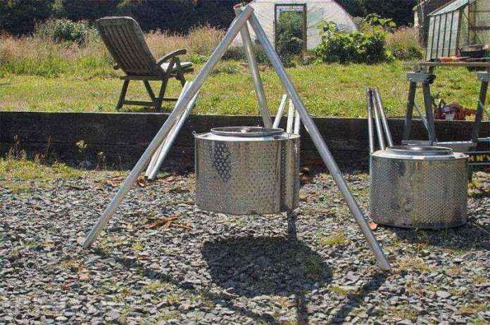 image21   Потрясающие идеи использования старой стиральной машины