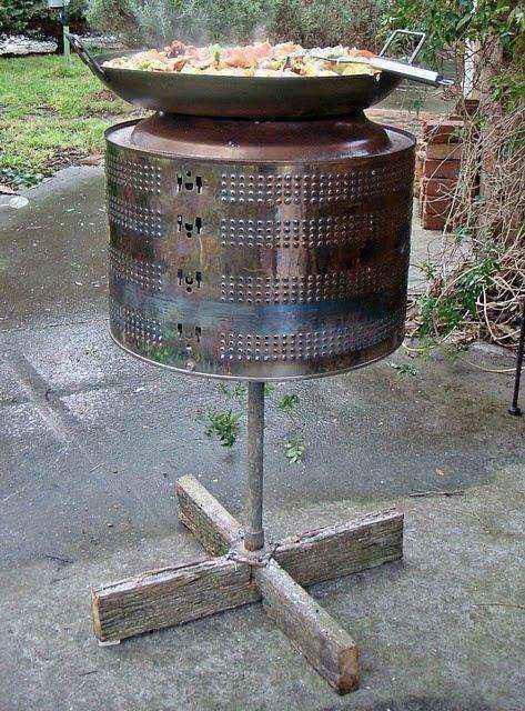 image22   Потрясающие идеи использования старой стиральной машины