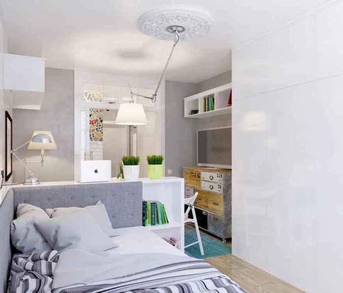 image6-42 | Как сделать уютной узкую 25-метровую квартиру-студию