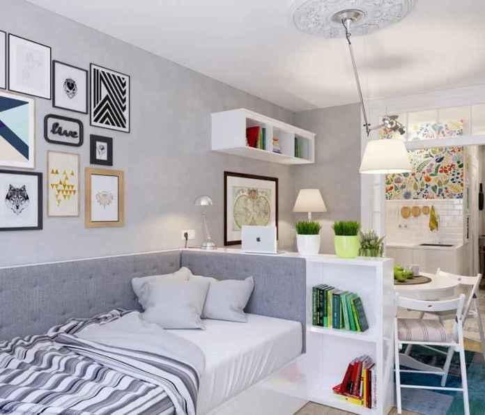 image7-31 | Как сделать уютной узкую 25-метровую квартиру-студию