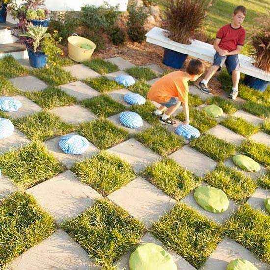 kids-garden-games-3 | 3 простых проекта своими руками: Детские игры для сада!