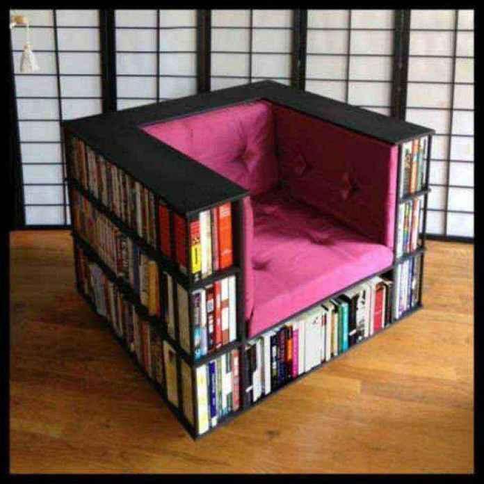 libreros-foto-8 | Идеи дизайна креативных книжных полок