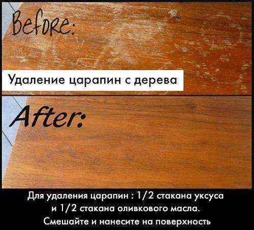 rasgunos-mueble-2 | 15 простых советов по удалению царапин на деревянной мебели