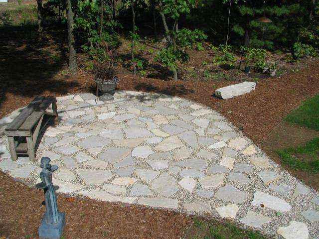 silver-creek-steppers | Как сделать мозаичный пол во дворе из натурального камня