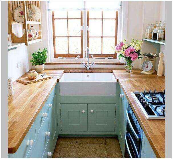 image1-45 | 10 способов зрительно расширить маленькую кухню