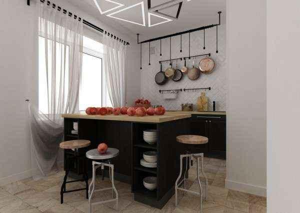 image1-56   Дизайн квартиры площадью 29 квадратных метров  в стиле минимализм
