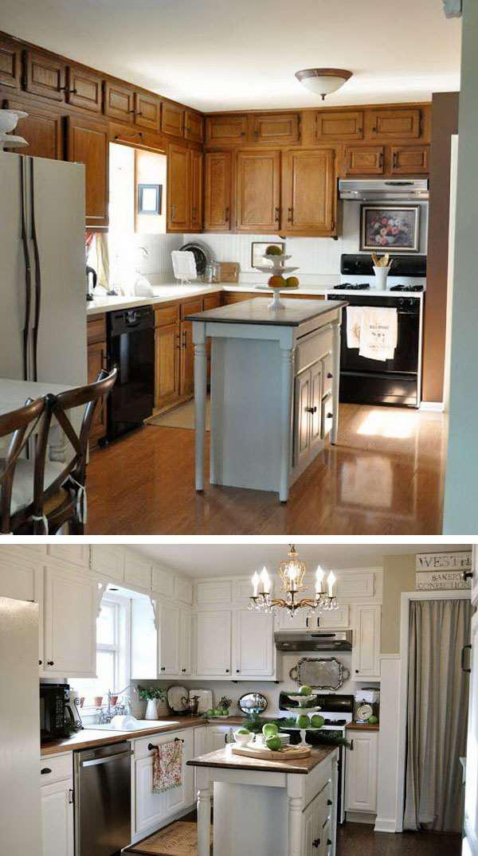 image12-30 | 25 идей переделки старой кухонной мебели