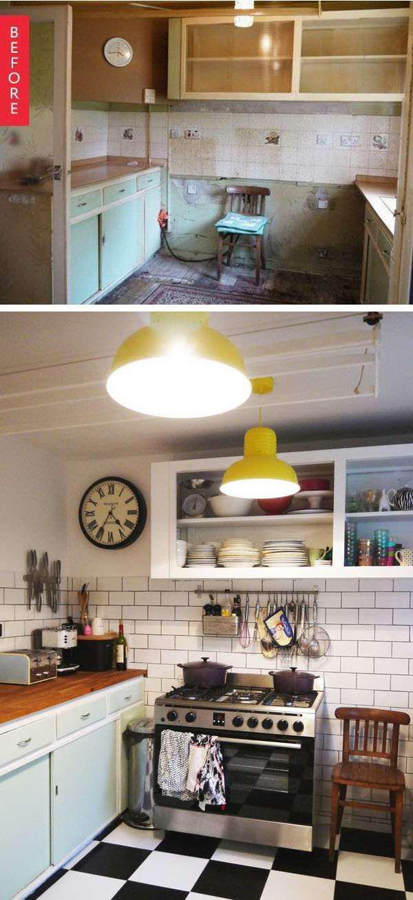 image14-21 | 25 идей переделки старой кухонной мебели